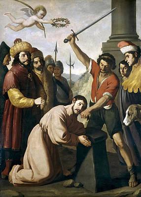 Martyrdom of Saint James Print by Francisco de Zurbaran