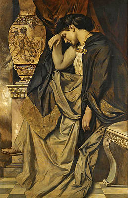 Medea at the Urn Print by Anselm Feuerbach