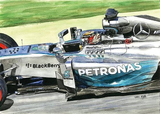 F1 Drawings Fine Art America