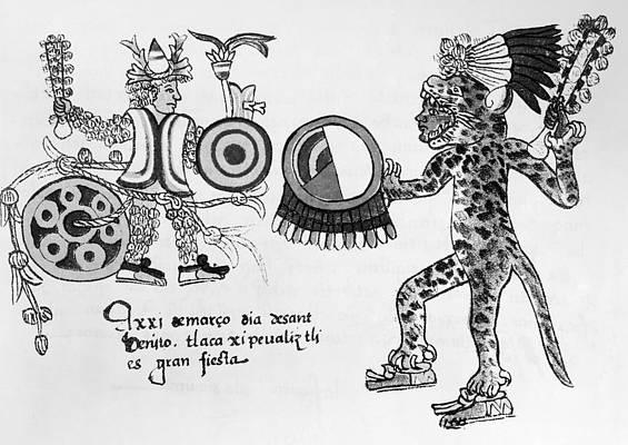 Aztec Drawings Pixels