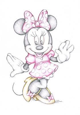 Disney Cartoons Drawings Fine Art America