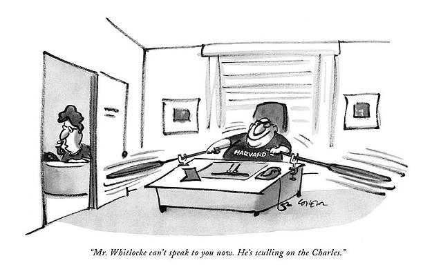 Рисунок выпускного колпака - мистер Уитлок может