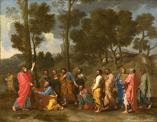 Ordination Print by Nicolas Poussin