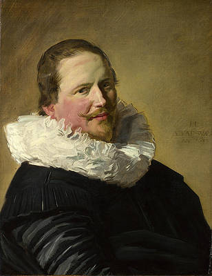 Portrait of a Man in his Thirties Print by Frans Hals