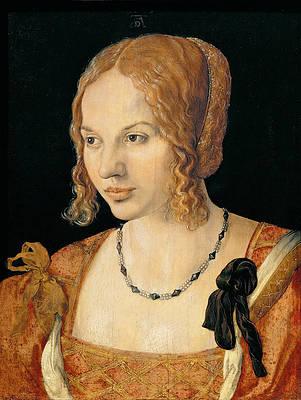 Portrait of a Venetian Woman Print by Albrecht Duerer