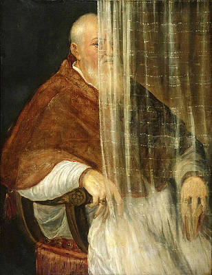 Portrait of Cardinal Filippo Archinto Print by Titian