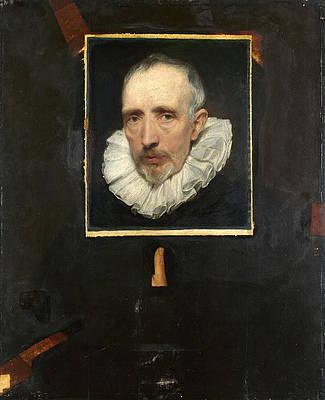 Portrait of Cornelis van der Geest Print by Anthony van Dyck