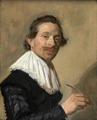 Portrait of Jean de la Chambre at the Age of 33 Print by Frans Hals