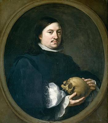 Portrait of Nicolas Omasur Print by Bartolome Esteban Murillo
