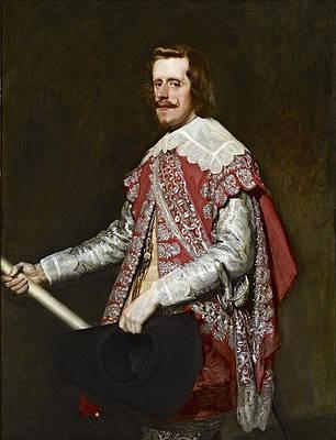 Portrait of Philip IV in Fraga Print by Diego Velazquez
