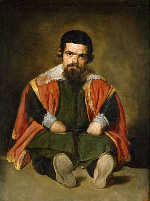 Portrait of Sebastian de Morra Print by Diego Velazquez