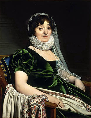 Portrait of the Countess of Tournon Print by Jean-Auguste-Dominique Ingres