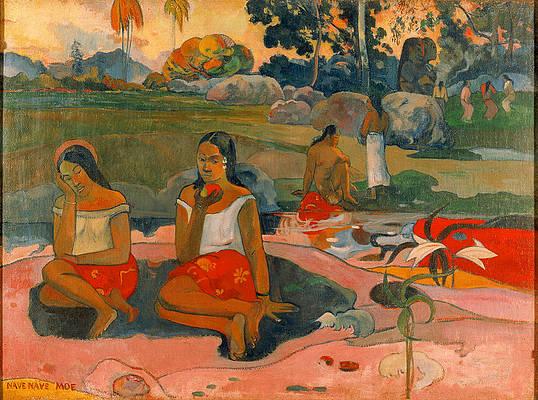 Sacred Spring. Sweet Dreams Print by Paul Gauguin