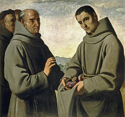 Saint Diego of Alcala Print by Francisco de Zurbaran