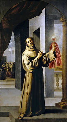 Saint Jacob Print by Francisco de Zurbaran