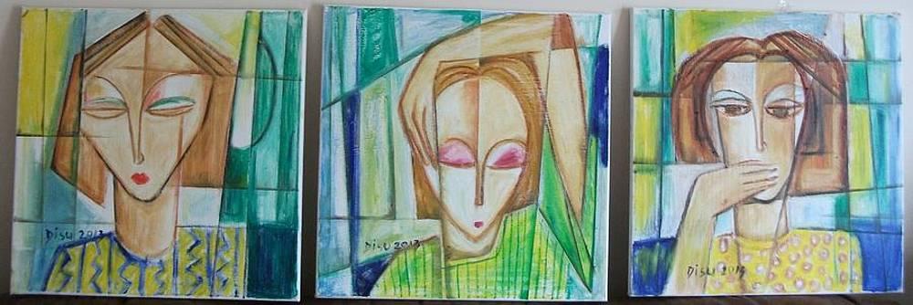 See No Evil original oil painting