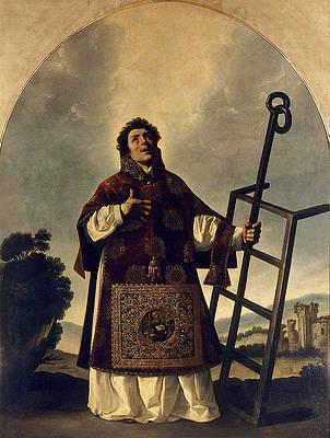 St Lawrence Print by Francisco de Zurbaran