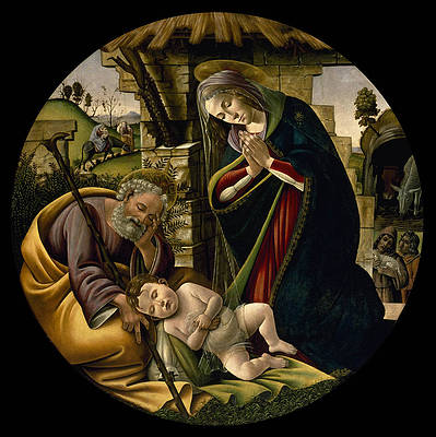 The Adoration of the Christ Child Print by Sandro Botticelli