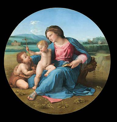 The Alba Madonna Print by Raphael