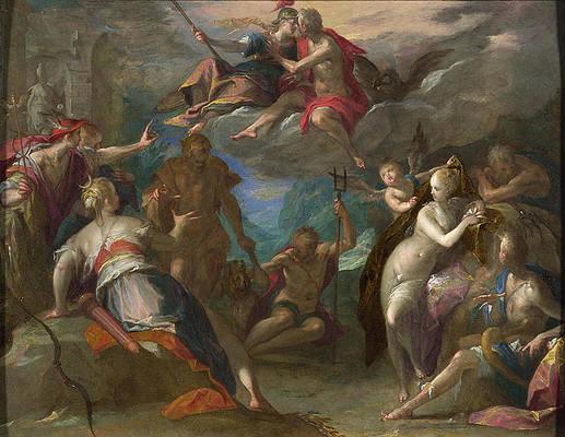 Featured Art - The Amazement of the Gods by Hans von Aachen