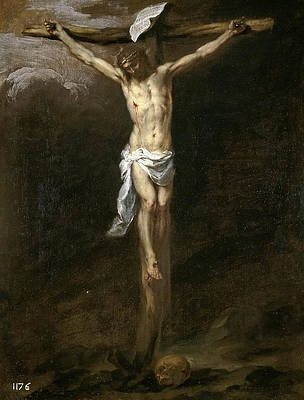 The Crucifixion Print by Bartolome Esteban Murillo