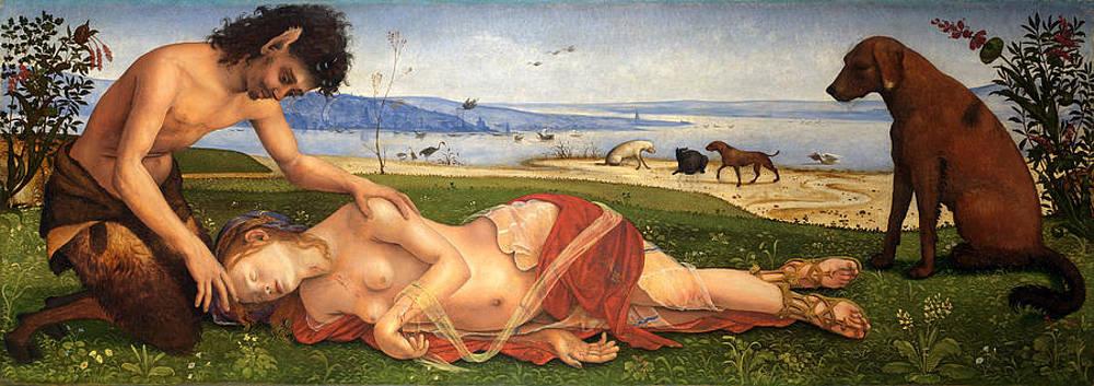 The Death of Procris Print by Piero di Cosimo