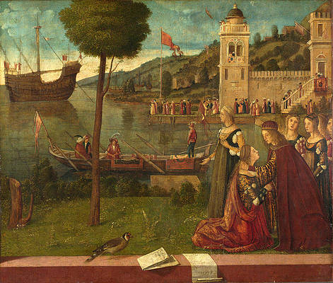The Departure of Ceyx Print by Vittore Carpaccio