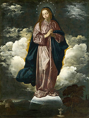 The Immaculate Conception Print by Diego Velazquez