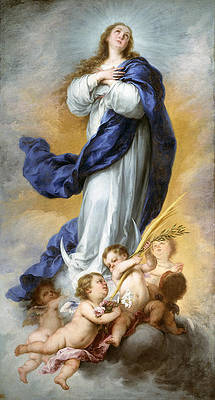 The Immaculate Conception of Aranjuez Print by Bartolome Esteban Murillo