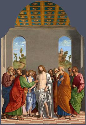 Featured Art - The Incredulity of Saint Thomas by Giovanni Battista Cima