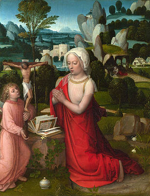 Featured Art - The Magdalen in a Landscape by Adriaen Isenbrandt