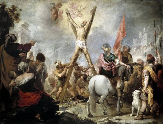 The Martyrdom of St Andrew Print by Bartolome Esteban Murillo