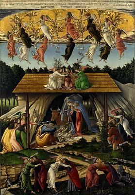 The Mystical Nativity Print by Sandro Botticelli