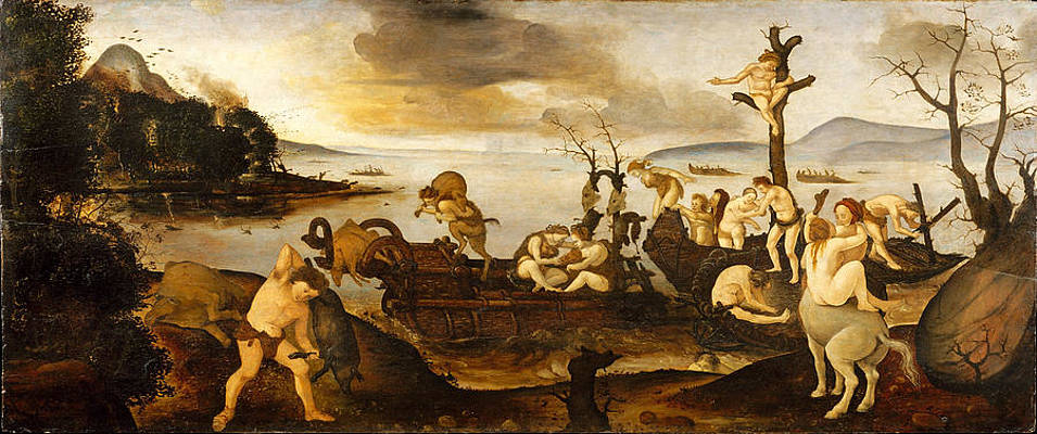 The Return from the Hunt Print by Piero di Cosimo