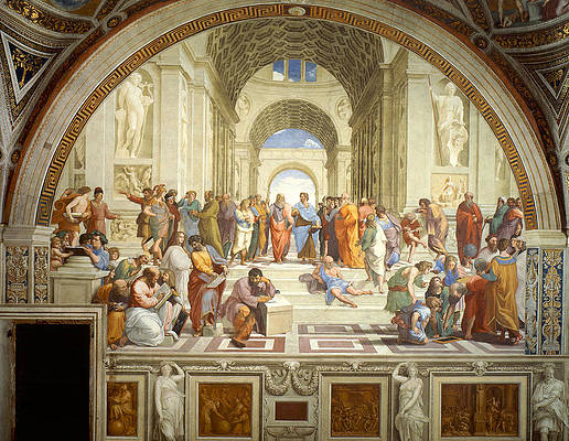 The School of Athens Print by Raphael