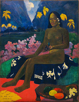 The Seed of the Areoi Print by Paul Gauguin
