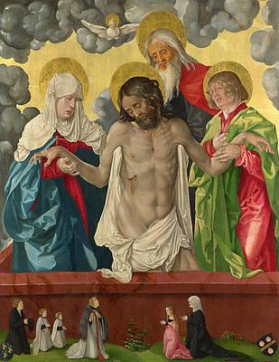 The Trinity and Mystic Pieta Print by Hans Baldung Grien