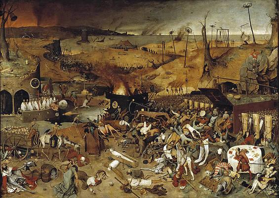 The Triumph of Death Print by Pieter Bruegel the Elder