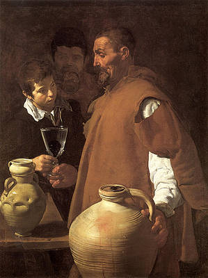 The Waterseller of Seville Print by Diego Velazquez