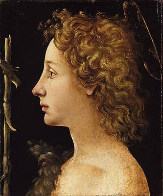 The Young Saint John the Baptist Print by Piero di Cosimo