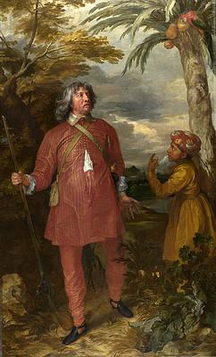 William Feilding 1st Earl of Denbigh Print by Anthony van Dyck