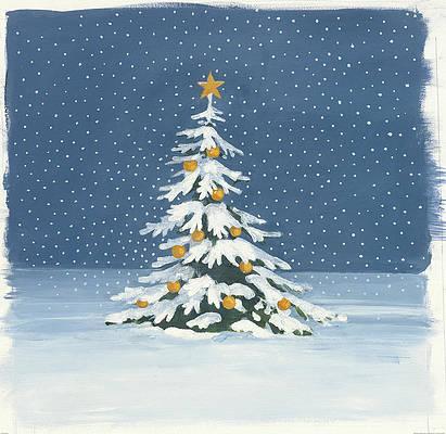 Christmas Tree Paintings   Fine Art America