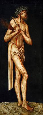 Christ as Man of Sorrows Print by Lucas Cranach the Elder