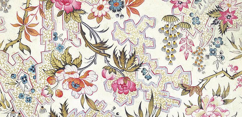 Wild Flower Drawing - Floral design by William Kilburn