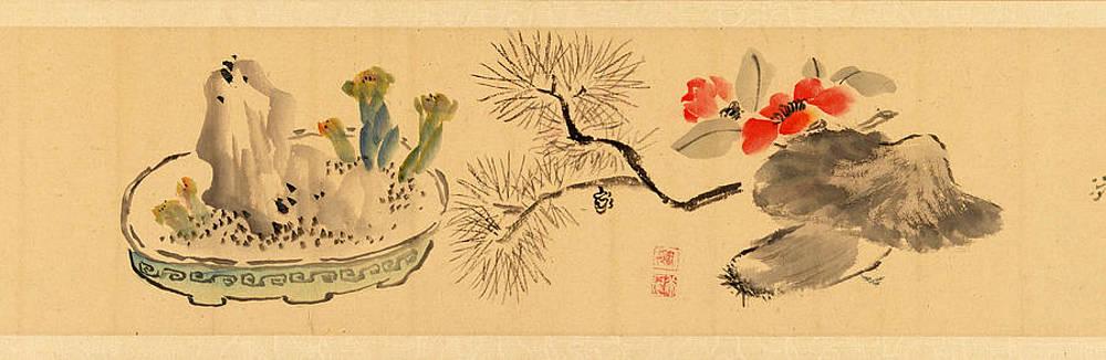 Realistic Flower Drawing - Flowers by Okada Hanko