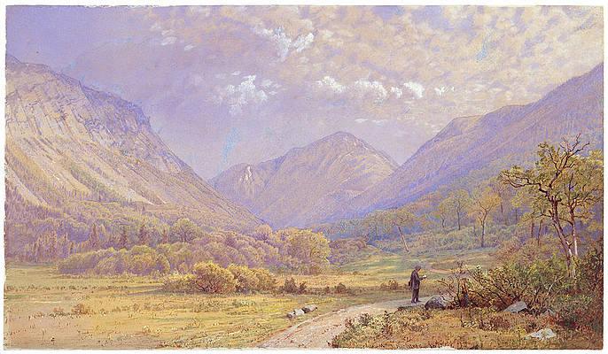 Franconia Notch, New Hampshire Print by William Trost Richards