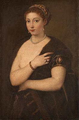 Girl in a Fur Print by Titian