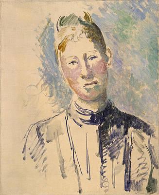 Madame Cezanne Print by Paul Cezanne