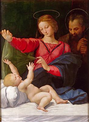 Madonna of Loreto Print by Raphael