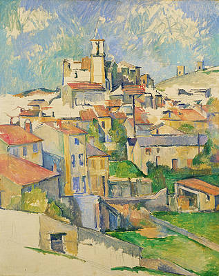 Gardanne Print by Paul Cezanne